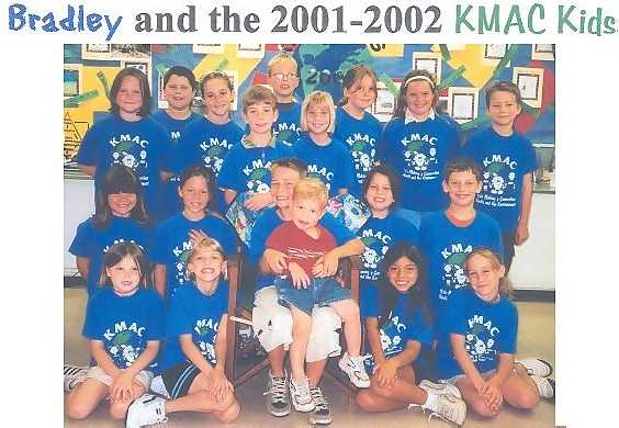Bradley and the 2001-2002 KMAC Kids