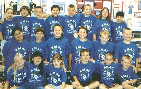 The 2000-2001 Hooker Oak School KMAC Kids