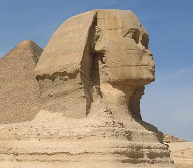 photograph of the sphinx
