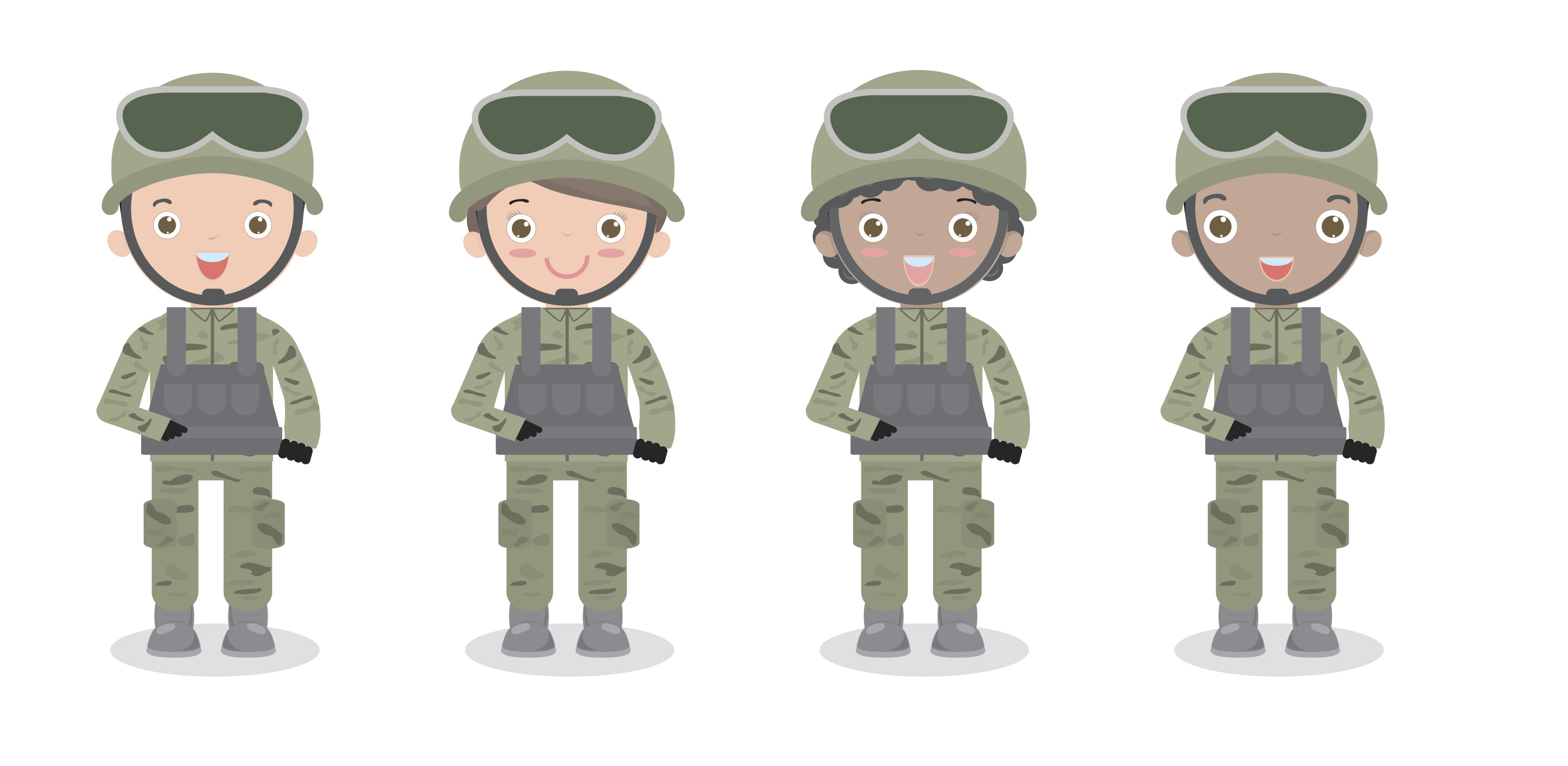 The Army Goes Rolling Along - Kids Environment Kids Health